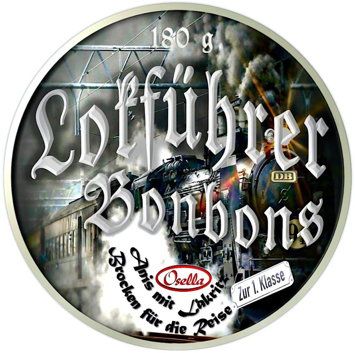 Osella Lokführer Bonbons