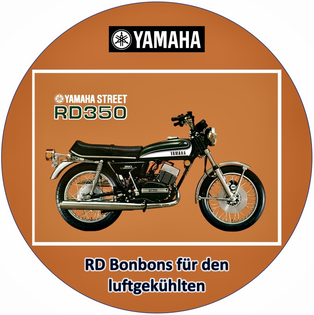 Yamaha Street RD350 | RD Bonbons für den luftgekühlten | Osella Süsswaren
