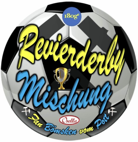 Osella Bonbonsorte Revierderby Schalke-Dortmund