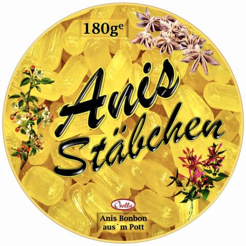 Osella Bonbonsorte ANIS Stäbchen