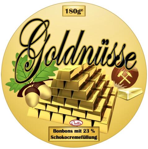 Osella Bonbonsorte Goldnüsse